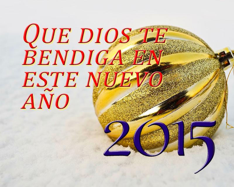 año nuevo 2015 adorno