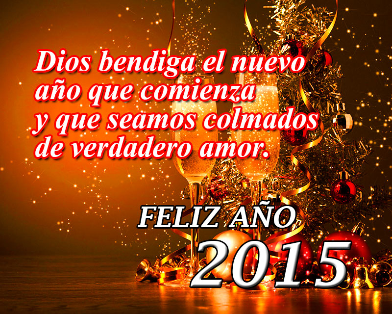 año nuevo 2015 copas brindis