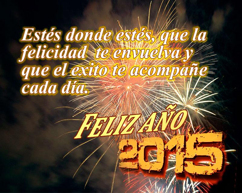 año nuevo 2015  fuegos artificiales grandes