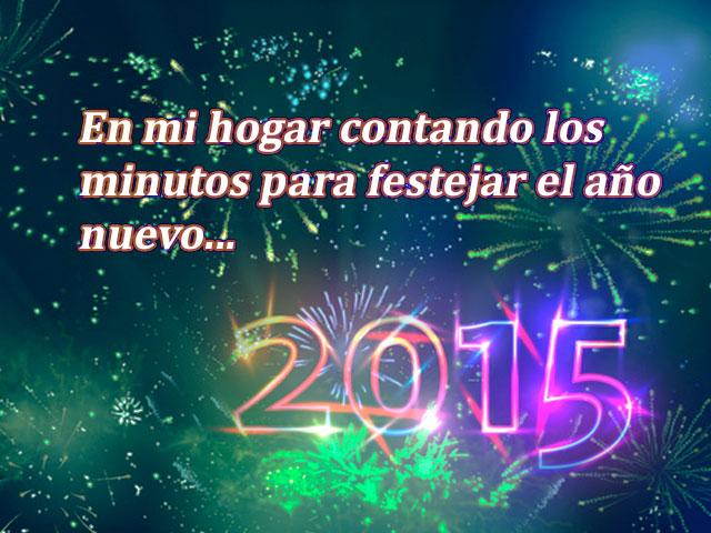año nuevo 2015 fuegos artificiales