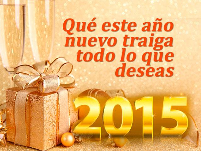 año nuevo 2015 regalo