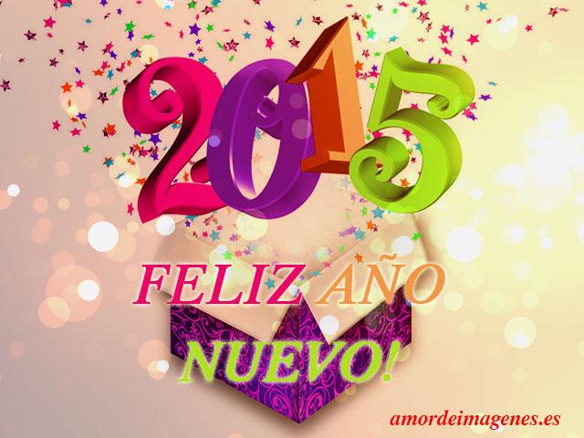 feliz 2015 en caja
