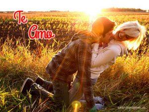 Imagenes con la frase te amo de amor juvenil