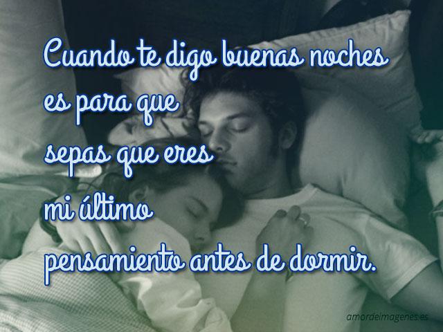 Buenas Noches Mi Amor Imagenes Con Frase