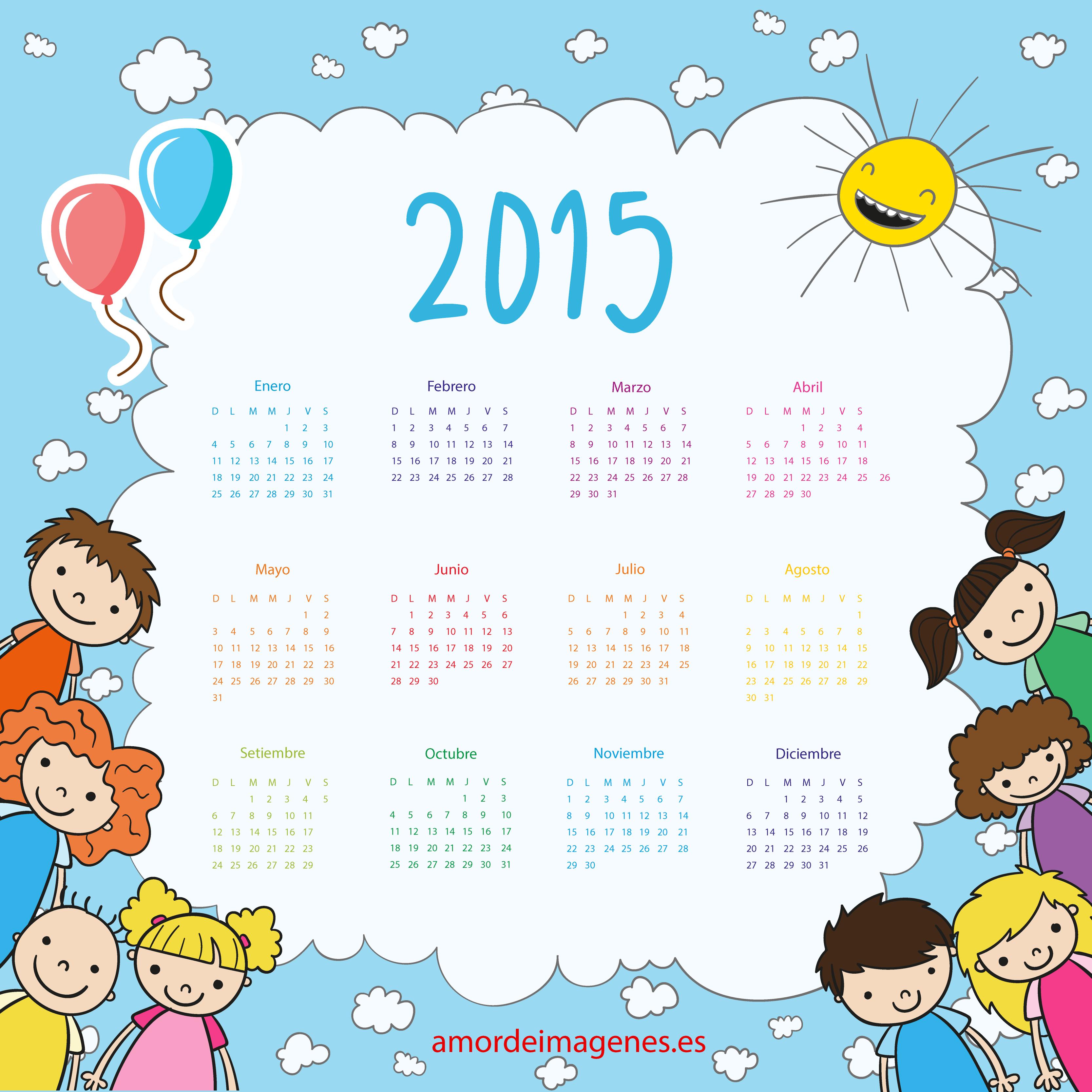 calendariodeniños