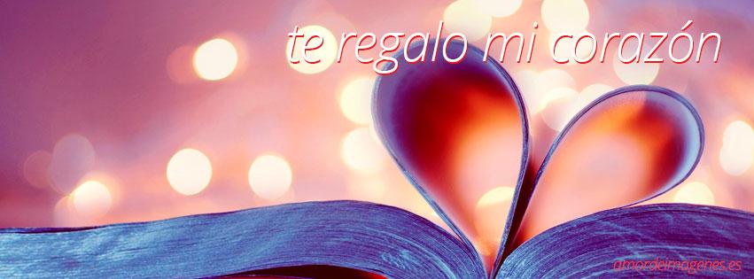 imágenes de amor para portada de facebook libro corazon