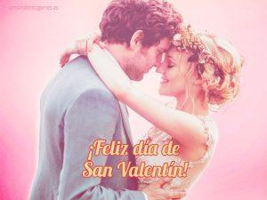 feliz dia de san valentin romantica pareja bailando