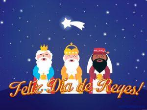 Imagenes de dia de reyes magos caricatura pequeños