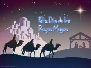 Imagenes de dia de reyes magos en camello perfil