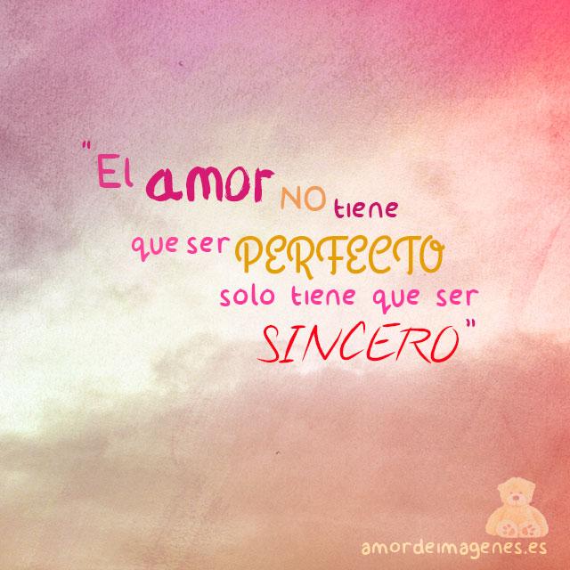 Frases de amor amor sincero
