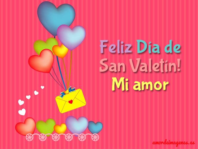 Tarjetas De San Valentin Colorido
