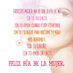 Frases para el Día de la Mujer silueta