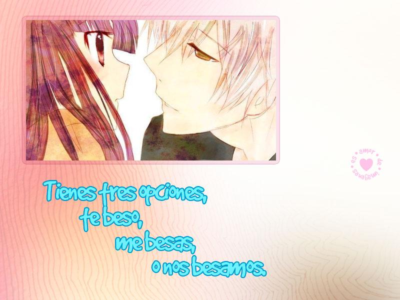 Imagenes de animes de amor mirada