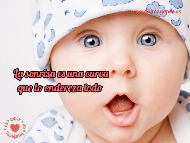 IMÁGENES De BEBES Con Frases Lindas Gratis