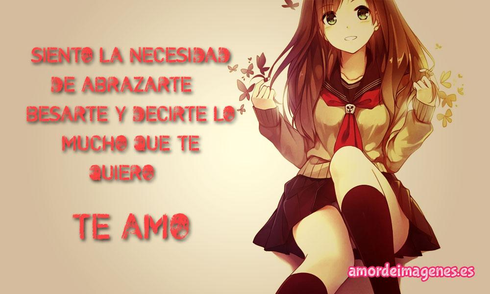 Imágenes de Amor Anime necesidad