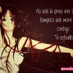 Imágenes de Amor Anime no vale la pena