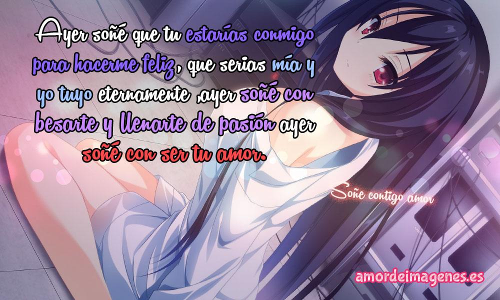 Imágenes de Amor Anime sueños