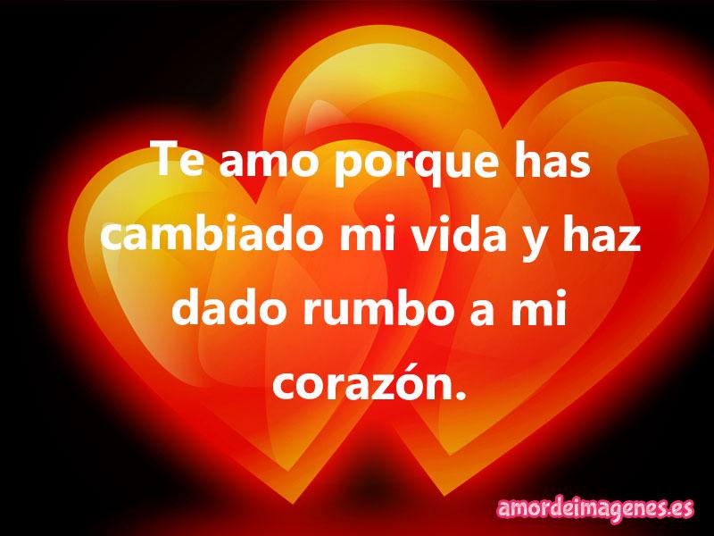 Imágenes de Amor con Corazones corazones naranjas
