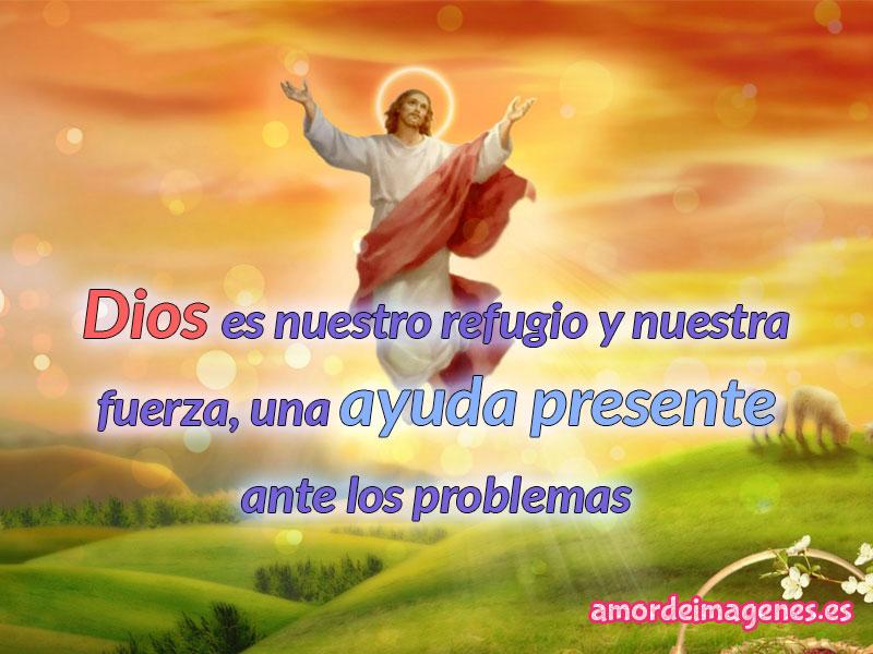 Imágenes de Jesus con frases de reflexion ayuda presente