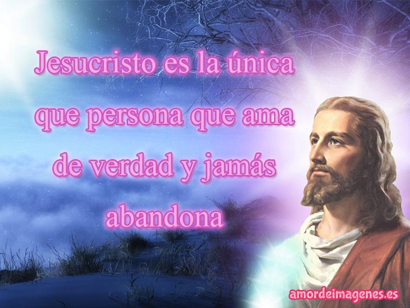 Imágenes de Jesus con frases de reflexion única persona