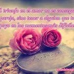 Imágenes de Rosas con Frases de Amor dos rosas