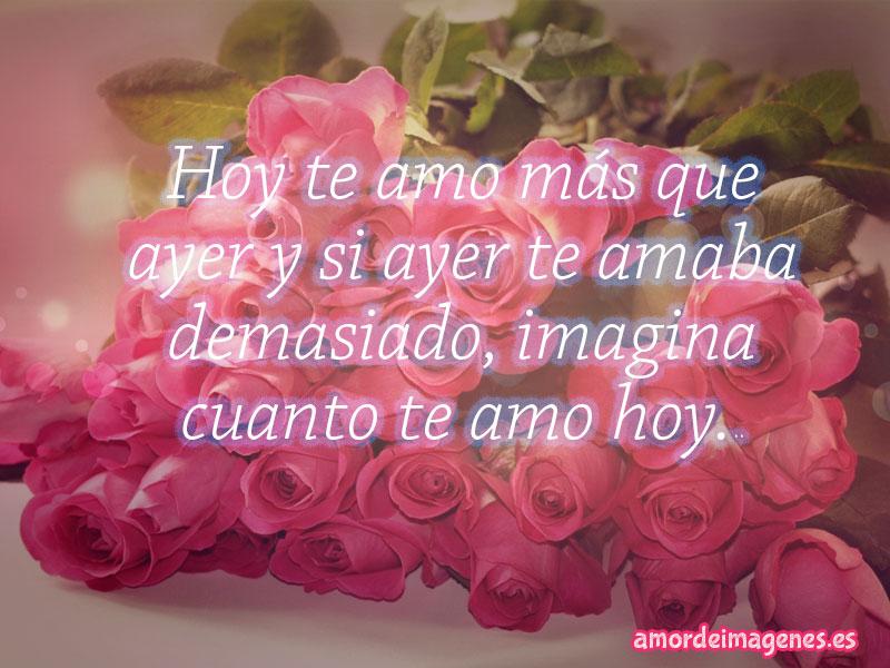 Imágenes de Rosas con Frases de Amor ramo de rosas