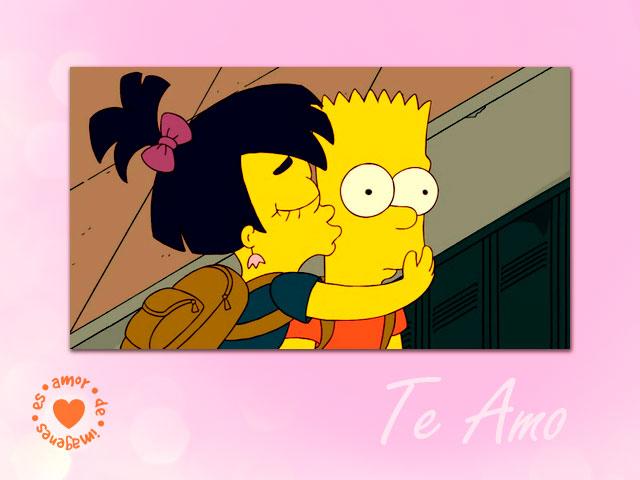 Imágenes De Los Simpsons De Amor