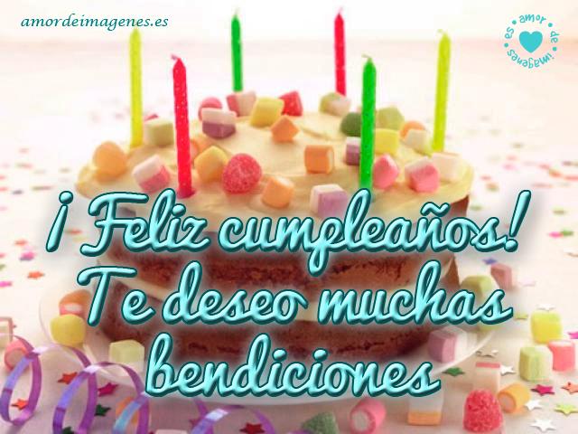 Feliz Cumpleaños en Imágenes torta