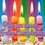 Feliz Cumpleaños en Imágenes velas