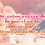 Foto de rosas con frase de amor