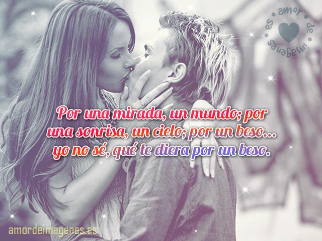 Imagen De Beso Apasionado Imagenes De Amor Con Frases