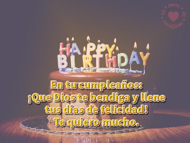 Imágenes de cumpleaños con todas las bendiciones del mundo para ti en tu día especial
