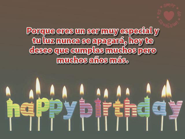 Imágenes de cumpleaños de Velitas de Happy Birthday