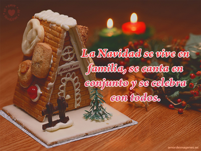 La Navidad se vive en familia, se canta en conjunto y se celebra con todos.