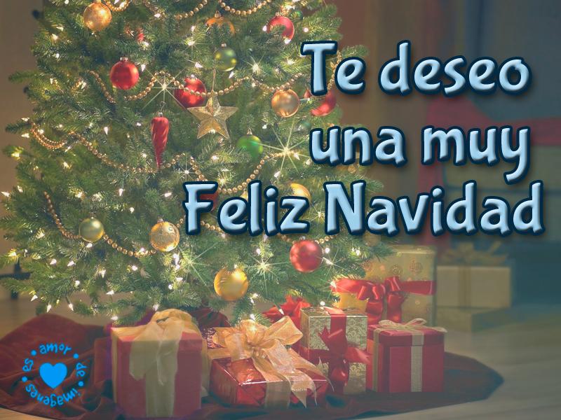 Te deseo una muy Feliz Navidad