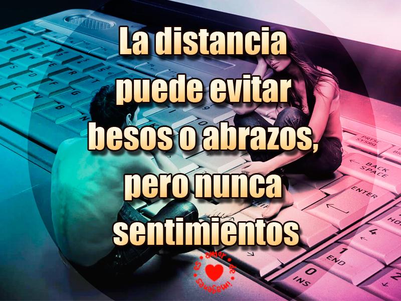Imagen Con Frase De Amor A Distancia Bellas Frases De Amor Virtual