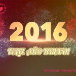 2016 Feliz Año Nuevo!