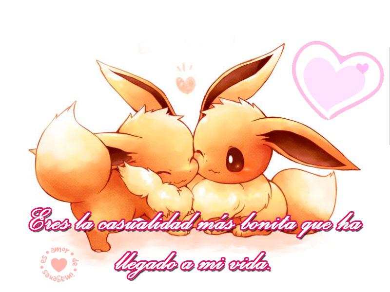 Imagen Bonita De Pokemones Carinosos Con Frase Imagenes Con Frases