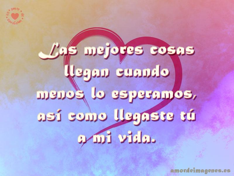 Imagen Con Frase De Amor Con Fondo De Corazon Frases De Amor Sobre