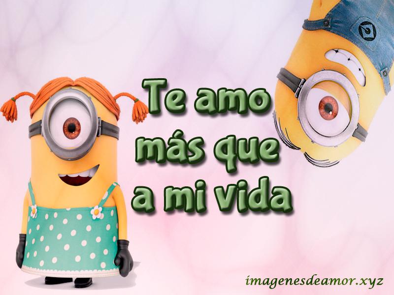Imagenes De Los Minions Con Frases De Amor
