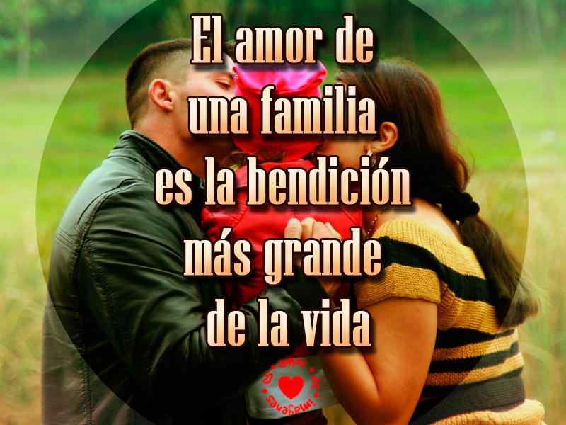 El amor de una familia es la bendición más grande de la vida