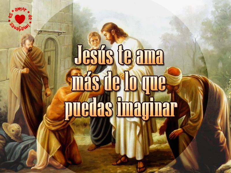 Jesús te ama más de lo que puedas imaginar
