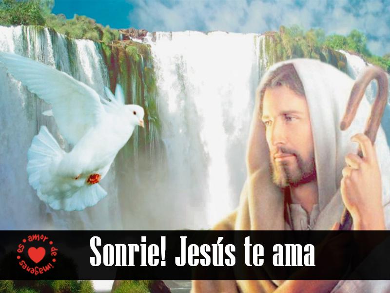 Sonríe! Jesús te ama