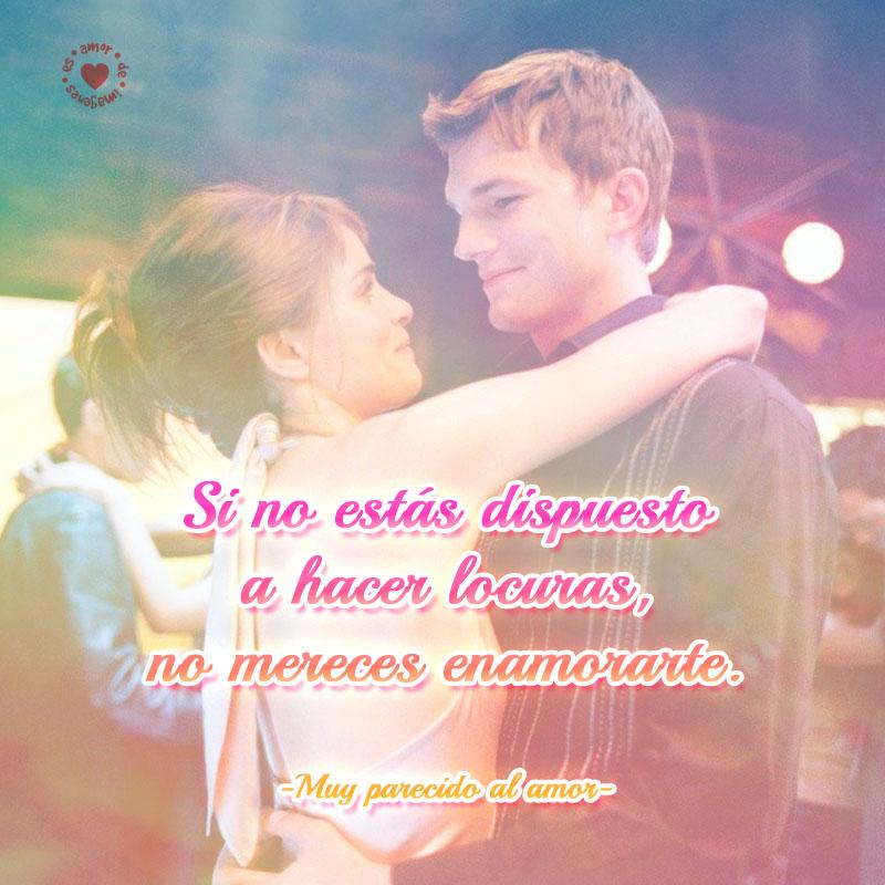 Linda Imagen De Amor Con Frase De Pelicula Muy Parecido Al Amor