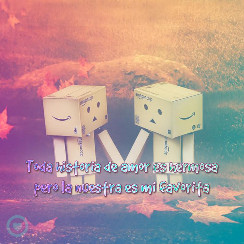 Cartoncitos enamorados