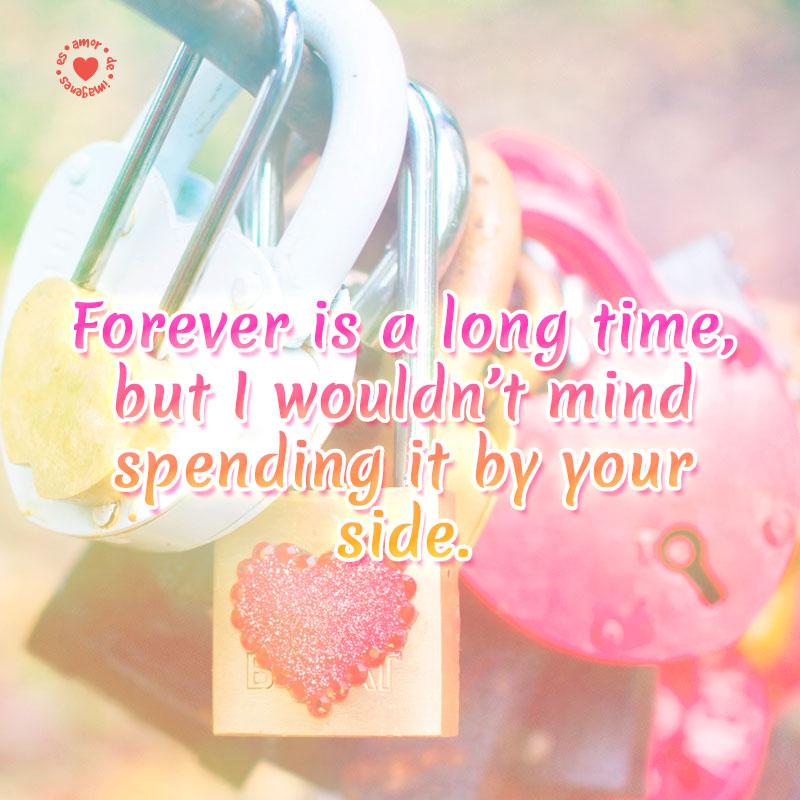 bella tarjeta de amor con frase para enamorar en inglés