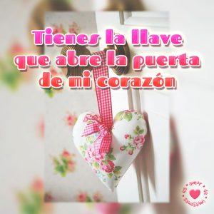 bonita foto de corazón con frase de amor