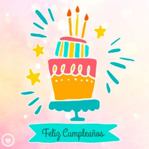 bonita imagen de cumpleaños feliz