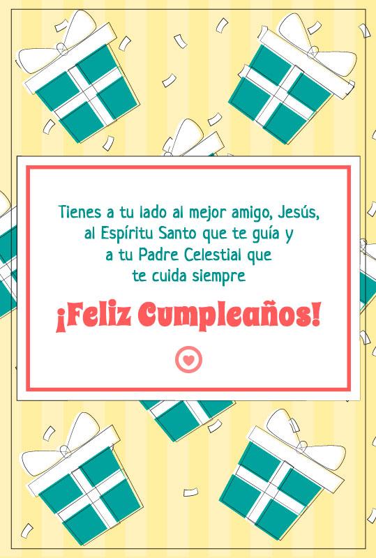bonito mensaje cristiano de cumpleaños