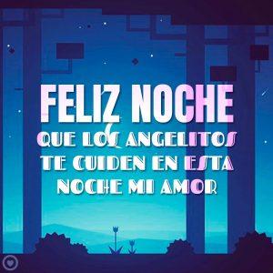 bonito mensaje de amor para desear feliz noche